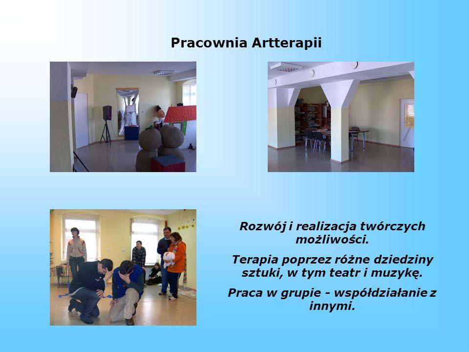 Pracownia Artterapii Rozwój i realizacja twórczych możliwości.