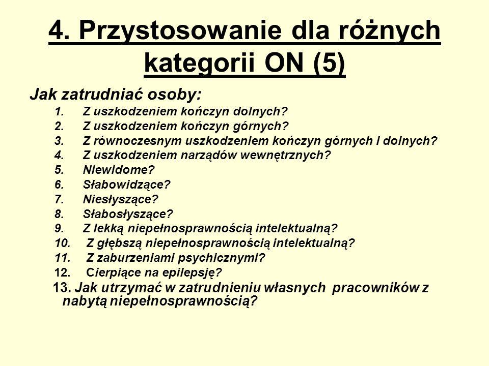 4. Przystosowanie dla różnych kategorii ON (5)