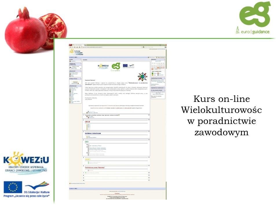 Kurs on-line Wielokulturowośc w poradnictwie zawodowym