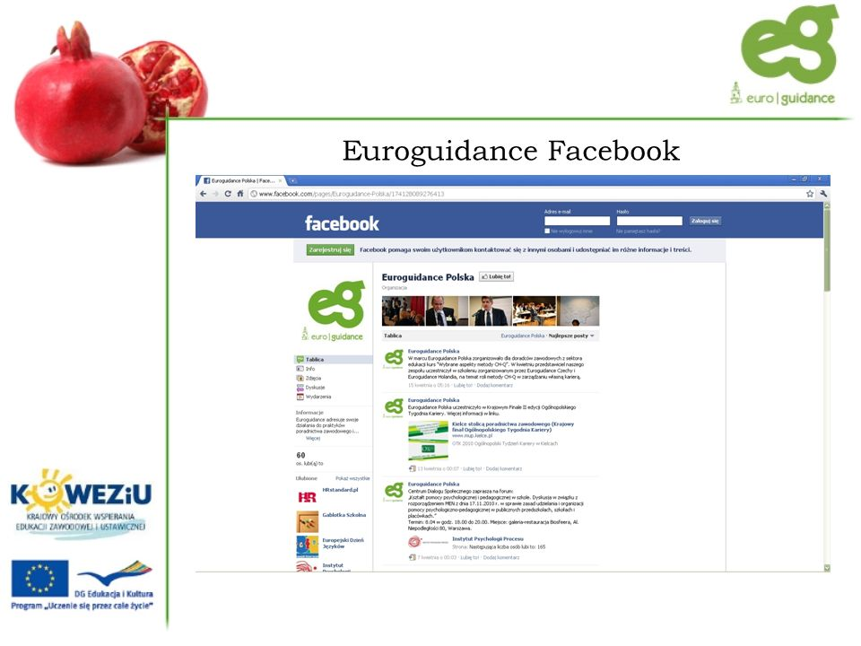 Euroguidance Facebook