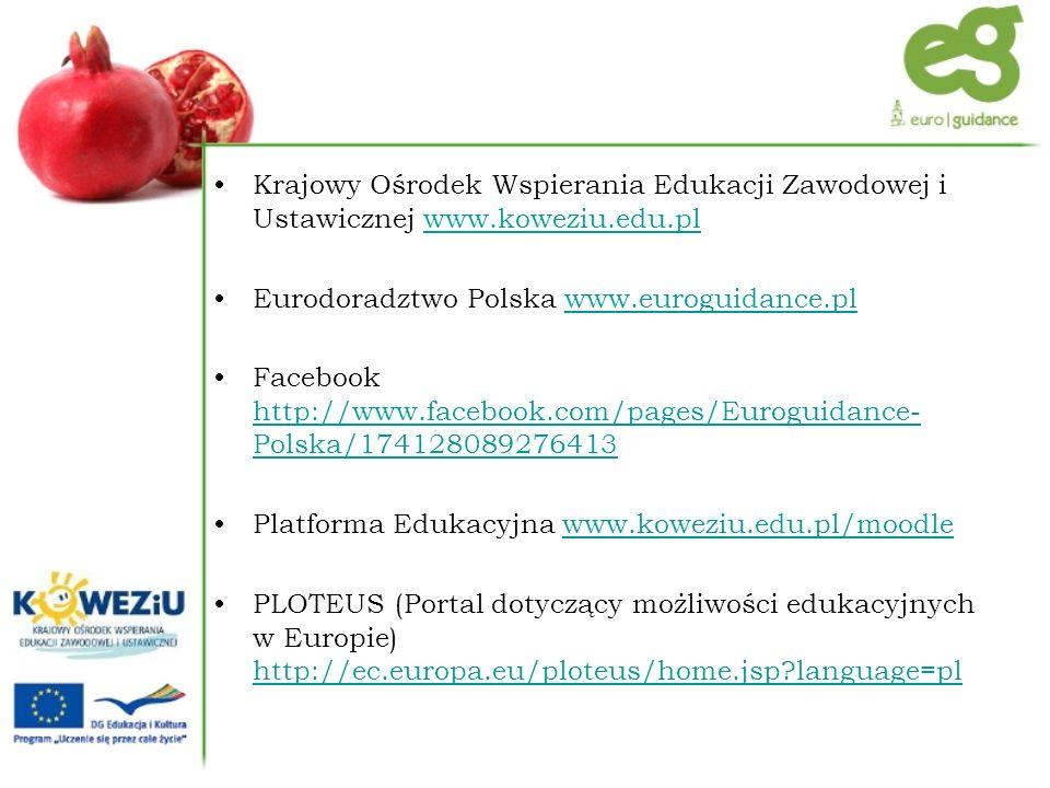 Krajowy Ośrodek Wspierania Edukacji Zawodowej i Ustawicznej www