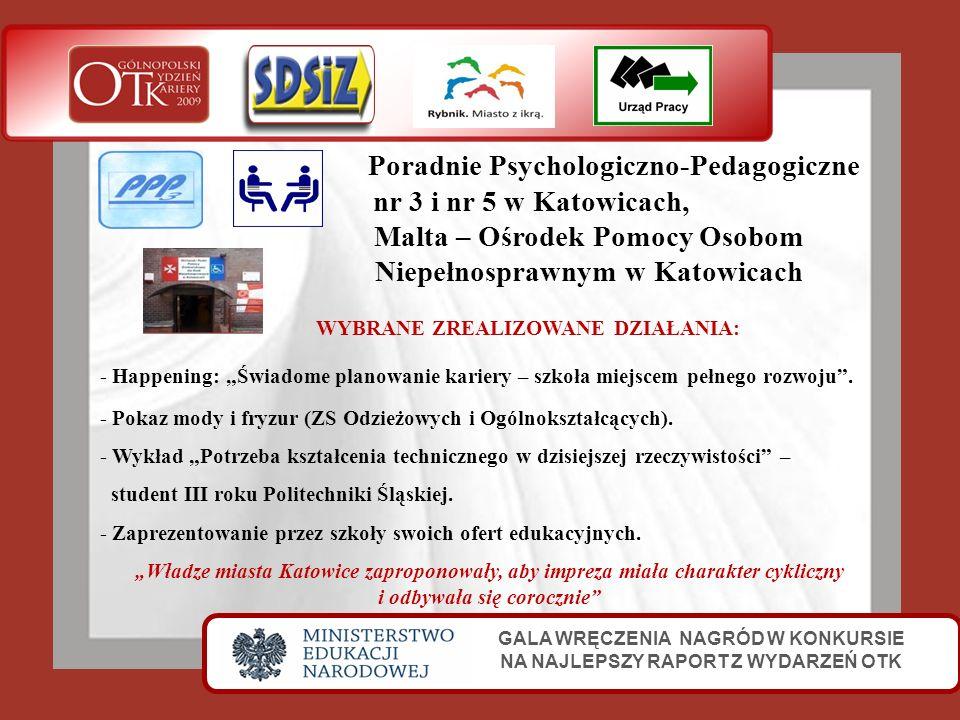 Poradnie Psychologiczno-Pedagogiczne nr 3 i nr 5 w Katowicach,