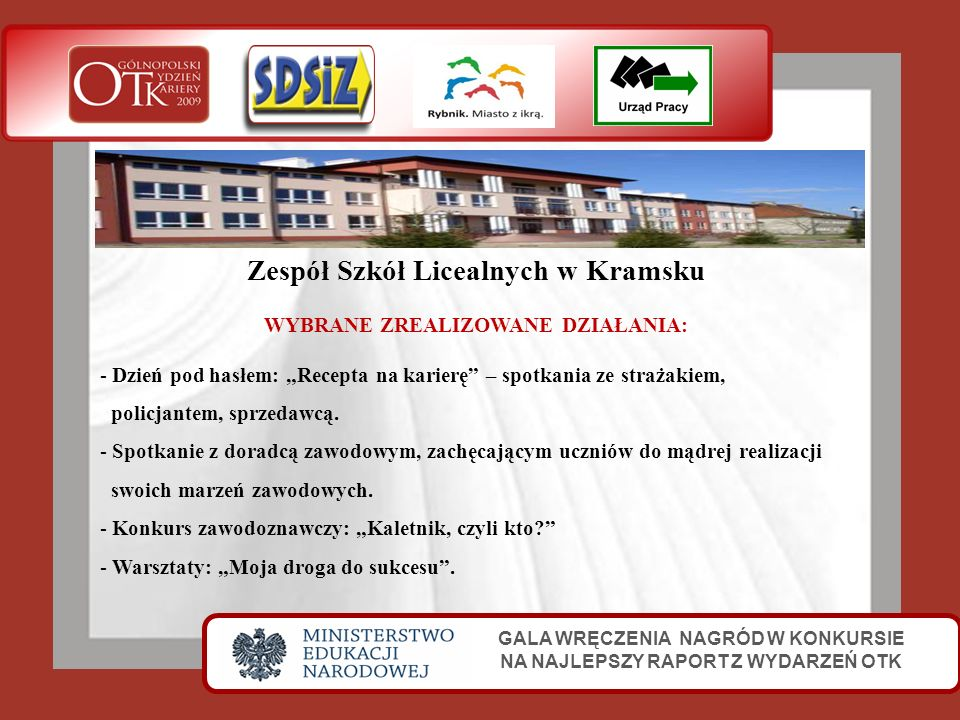 Zespół Szkół Licealnych w Kramsku