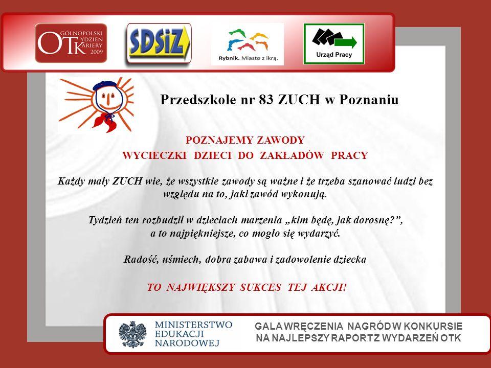 Przedszkole nr 83 ZUCH w Poznaniu