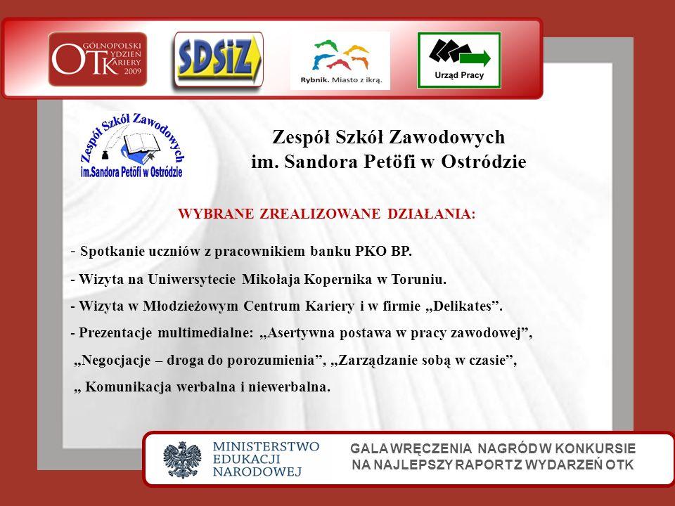 Zespół Szkół Zawodowych im. Sandora Petöfi w Ostródzie