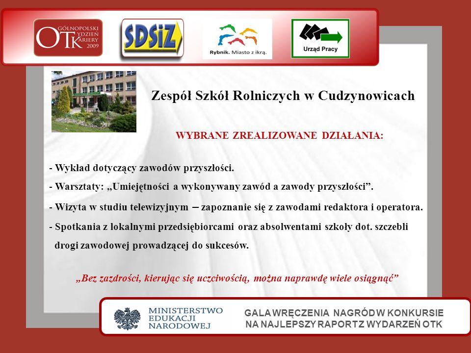 Zespół Szkół Rolniczych w Cudzynowicach