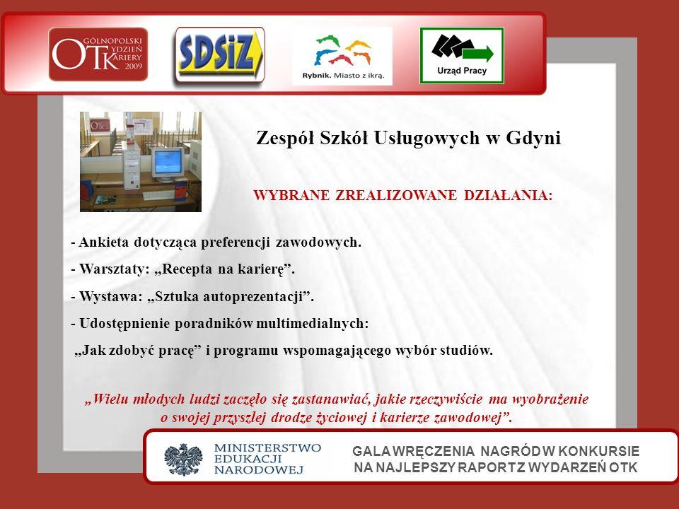Zespół Szkół Usługowych w Gdyni