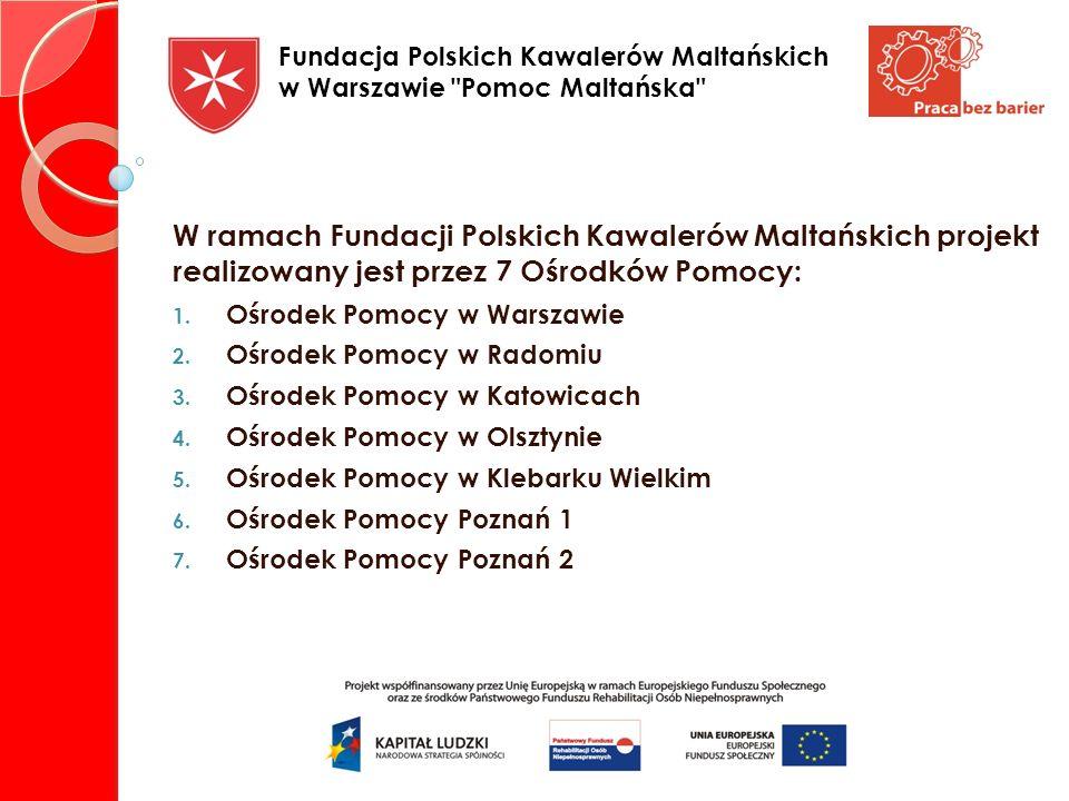 Fundacja Polskich Kawalerów Maltańskich w Warszawie Pomoc Maltańska