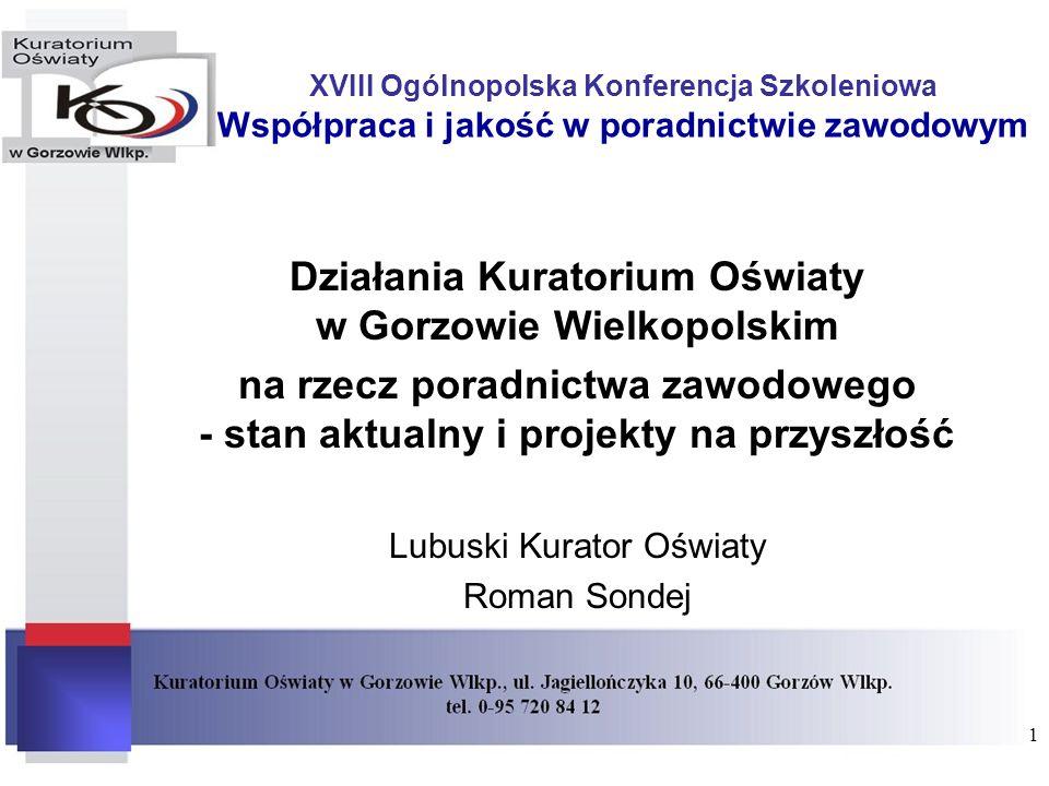 Działania Kuratorium Oświaty w Gorzowie Wielkopolskim