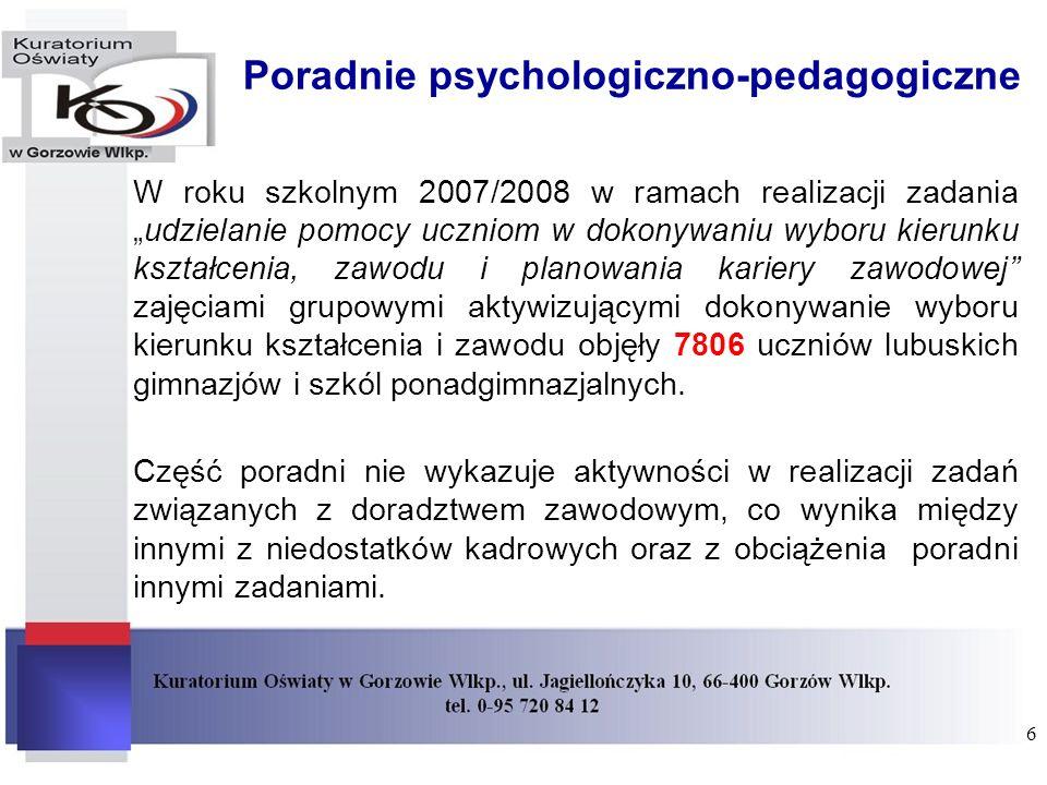 Poradnie psychologiczno-pedagogiczne