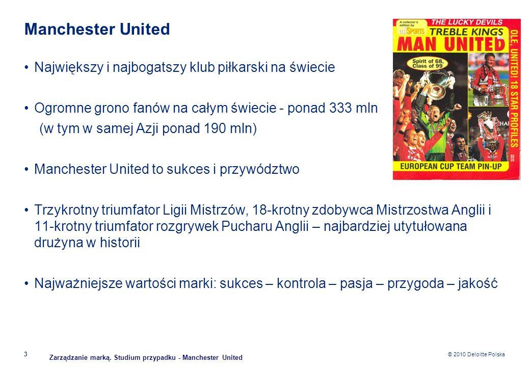 Manchester United Największy i najbogatszy klub piłkarski na świecie