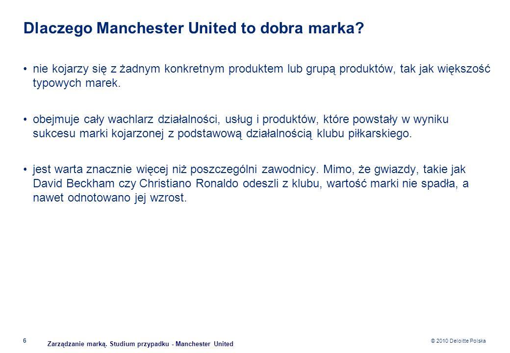Dlaczego Manchester United to dobra marka