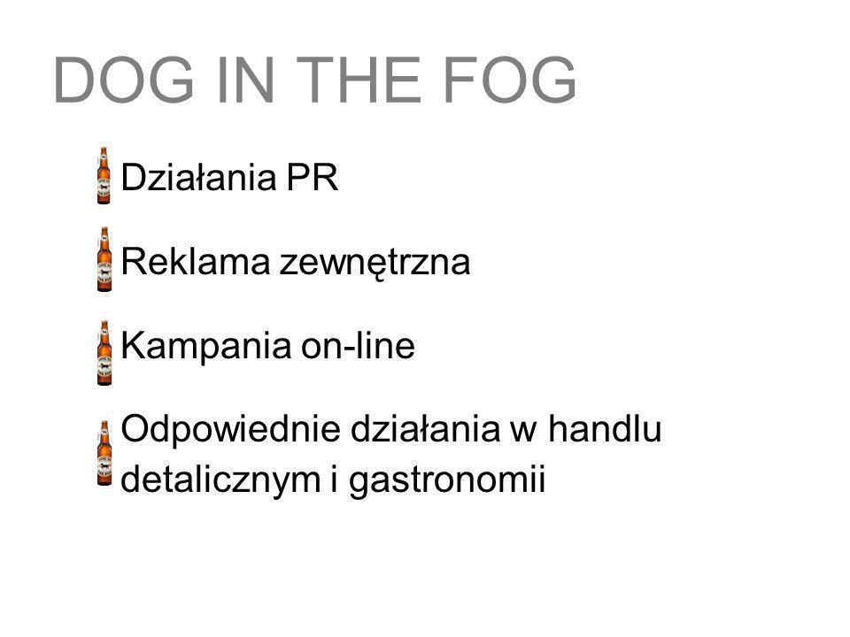 DOG IN THE FOG Reklama zewnętrzna Kampania on-line