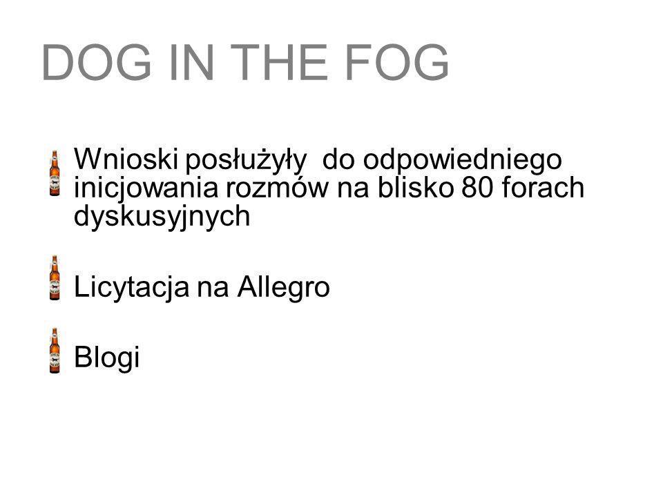 DOG IN THE FOG Licytacja na Allegro Blogi