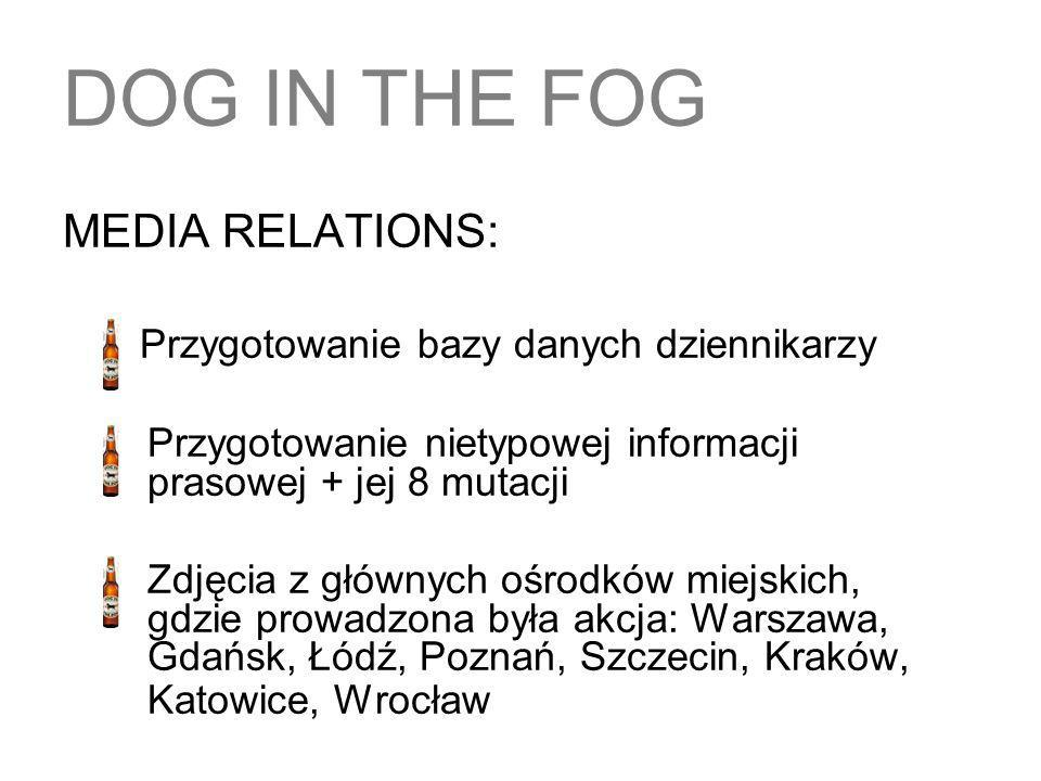 DOG IN THE FOG MEDIA RELATIONS: Przygotowanie bazy danych dziennikarzy