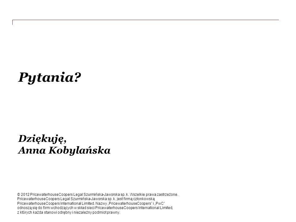 Pytania Dziękuję, Anna Kobylańska