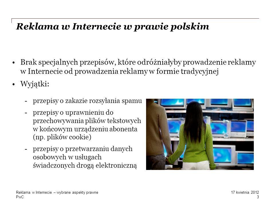 Reklama w Internecie w prawie polskim