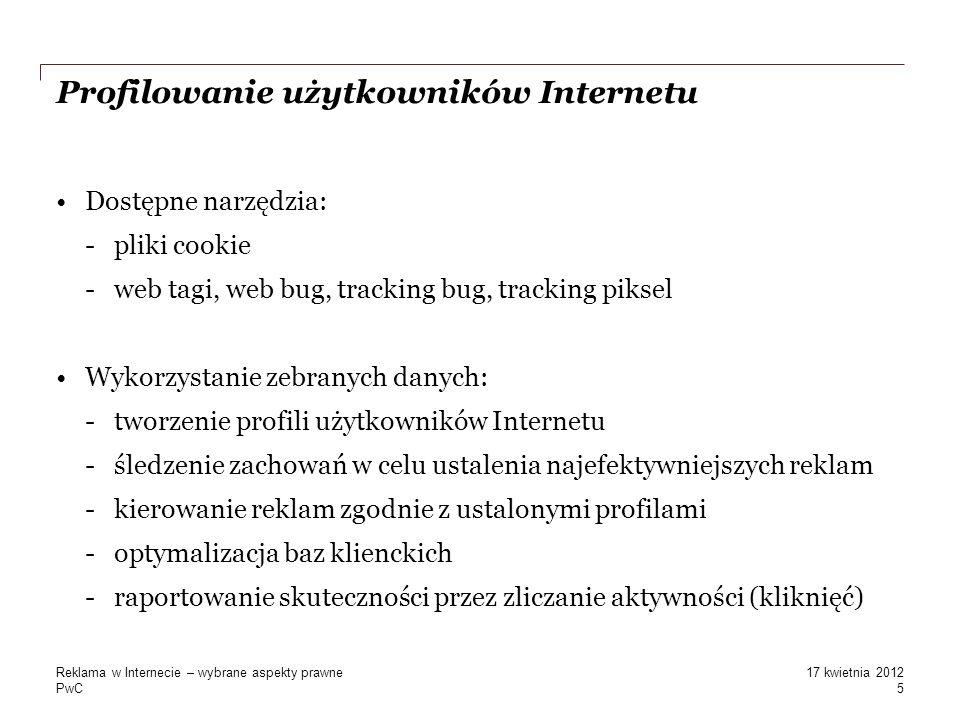 Profilowanie użytkowników Internetu