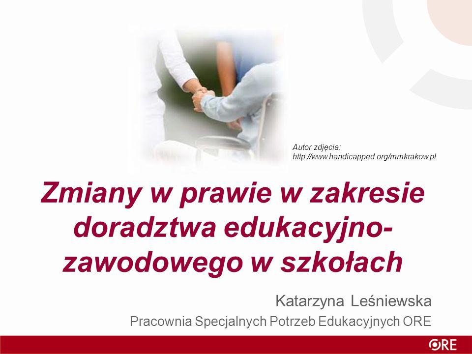 Zmiany w prawie w zakresie doradztwa edukacyjno-zawodowego w szkołach