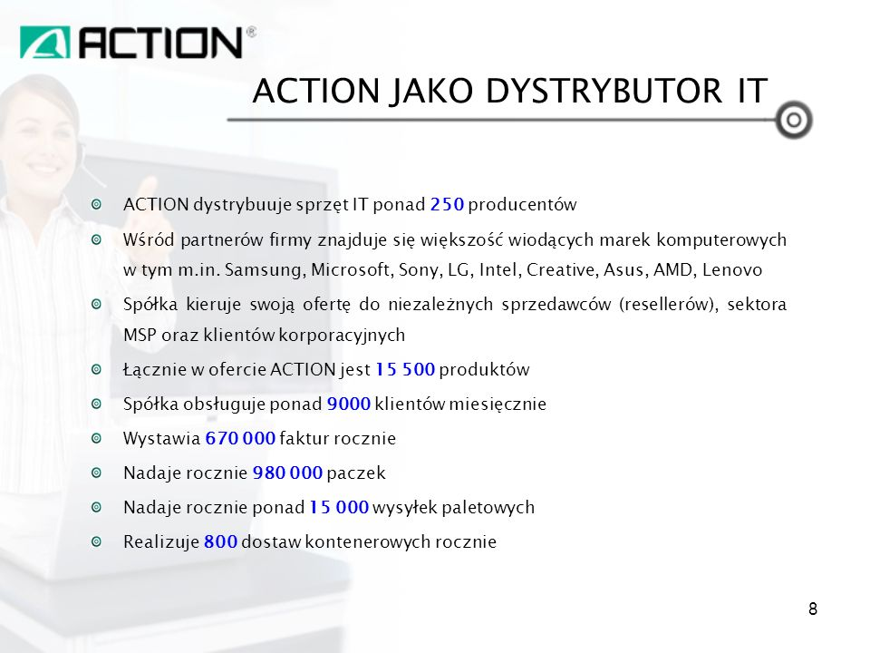 ACTION JAKO DYSTRYBUTOR IT