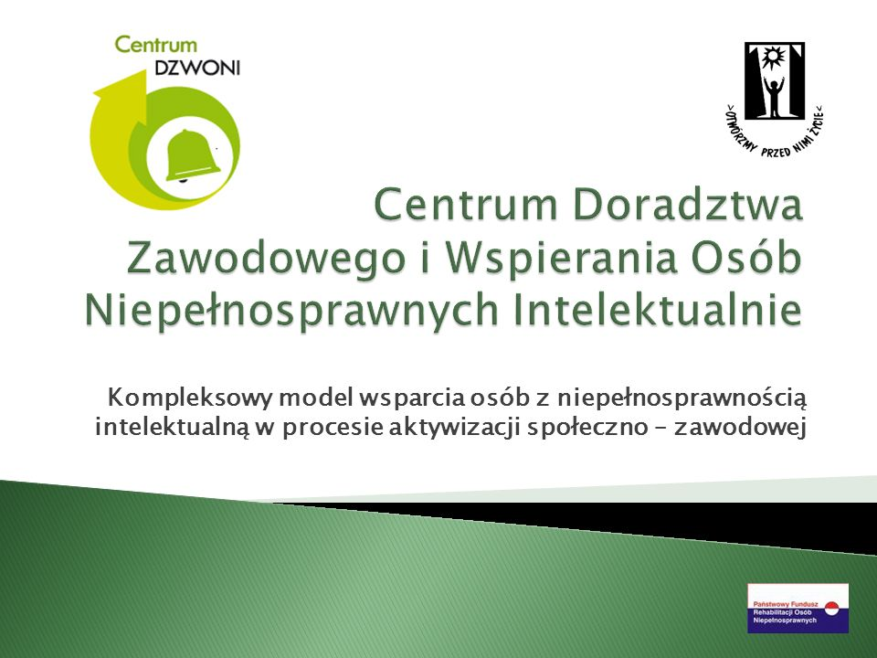 Centrum Doradztwa Zawodowego i Wspierania Osób Niepełnosprawnych Intelektualnie