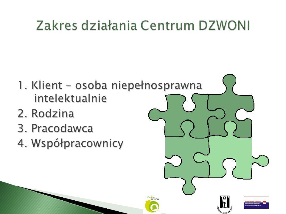 Zakres działania Centrum DZWONI