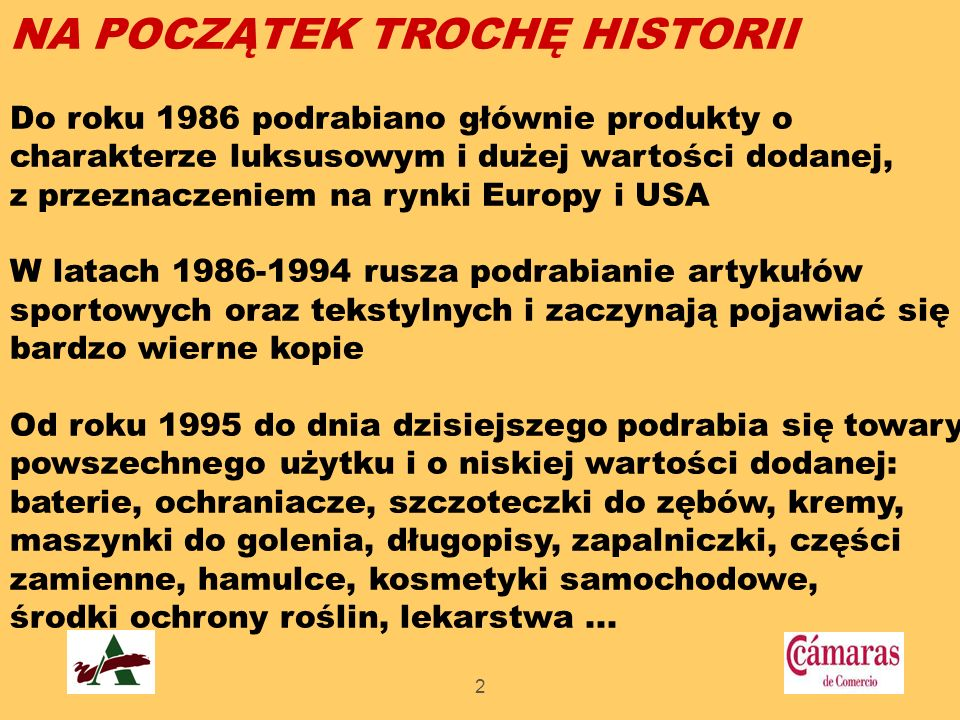 NA POCZĄTEK TROCHĘ HISTORII