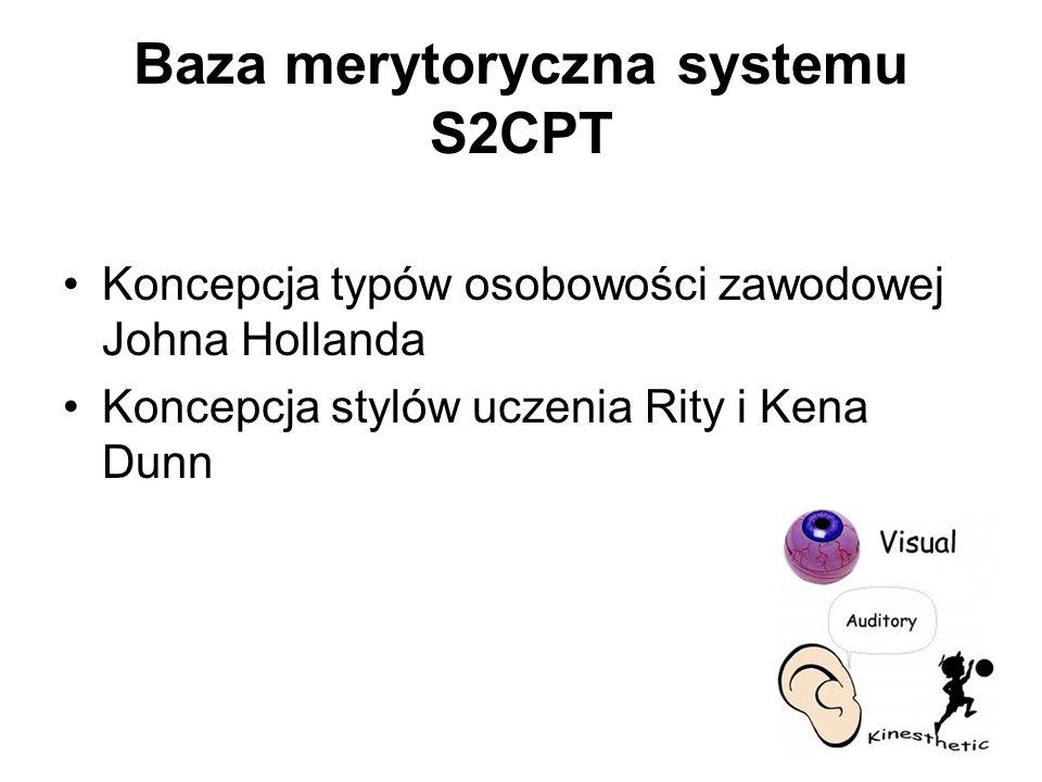 Baza merytoryczna systemu S2CPT