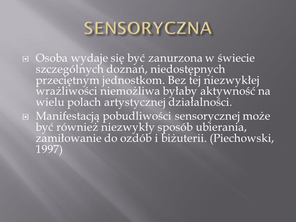 SENSORYCZNA