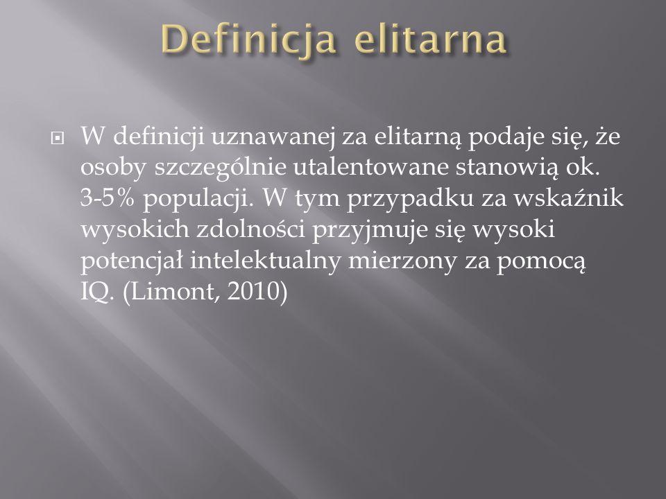 Definicja elitarna