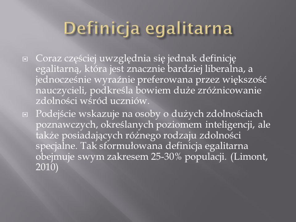 Definicja egalitarna