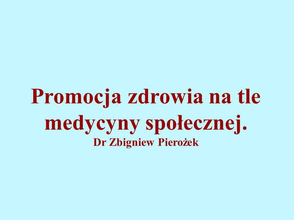Promocja zdrowia na tle