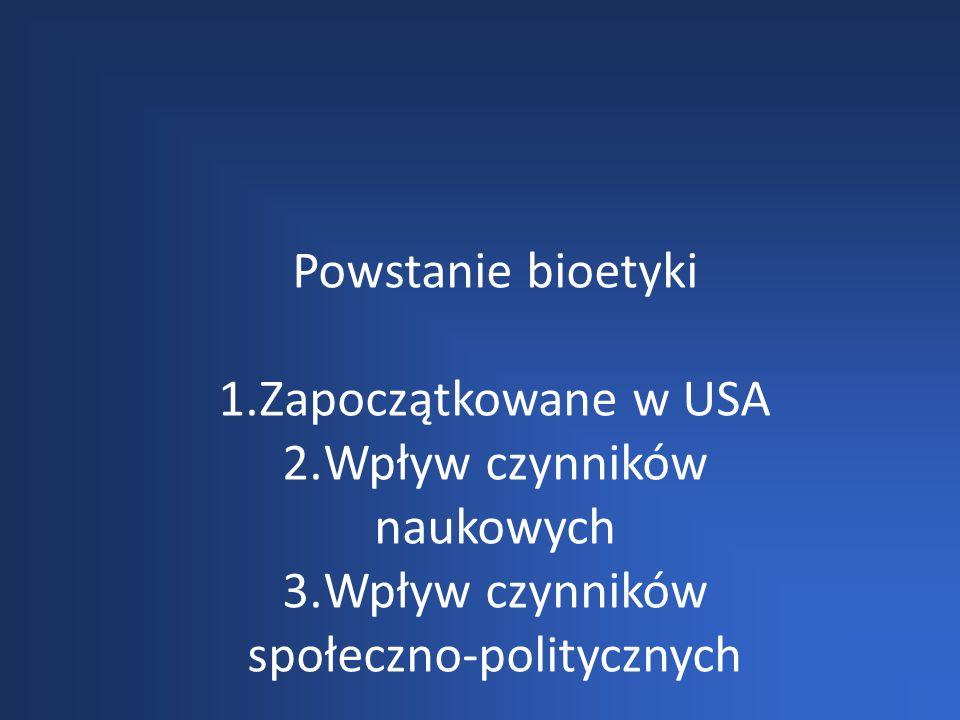 Wpływ czynników naukowych Wpływ czynników społeczno-politycznych