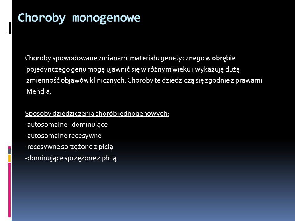 Choroby monogenowe