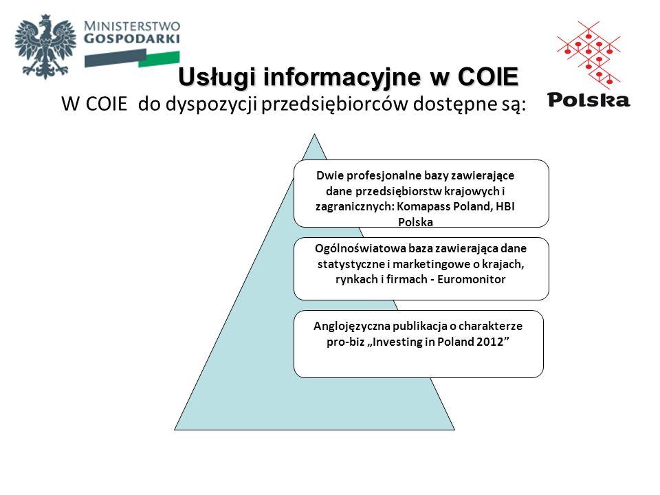 Usługi informacyjne w COIE