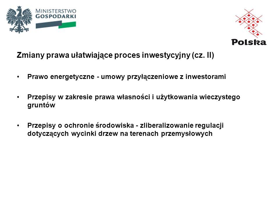 Zmiany prawa ułatwiające proces inwestycyjny (cz. II)
