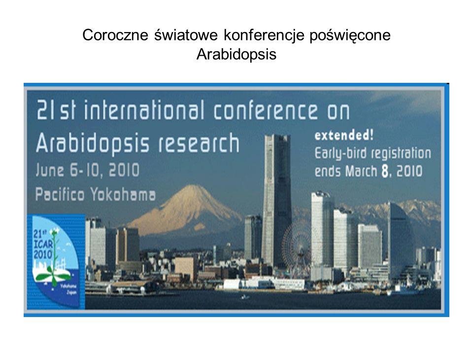 Coroczne światowe konferencje poświęcone Arabidopsis
