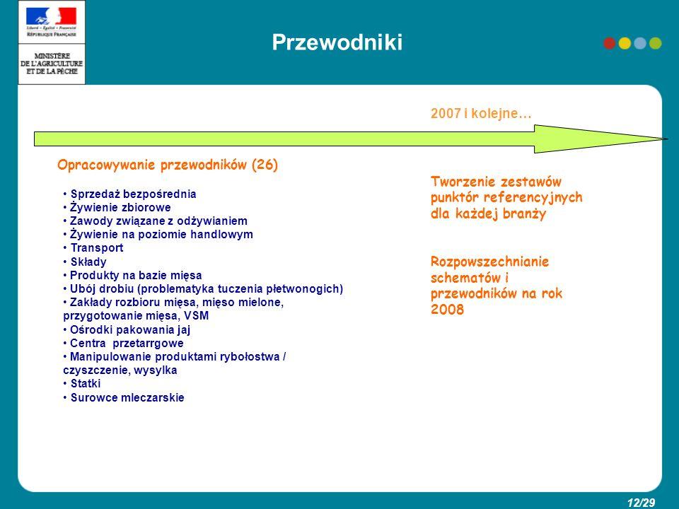 Przewodniki 2007 i kolejne… Opracowywanie przewodników (26)