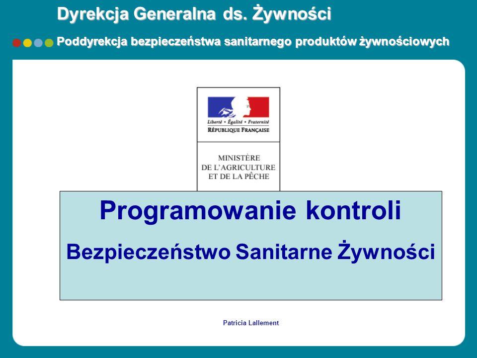 Programowanie kontroli Bezpieczeństwo Sanitarne Żywności