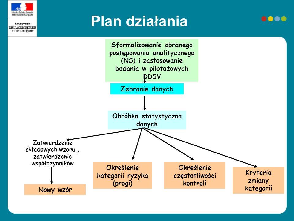 Plan działaniaSformalizowanie obranego postępowania analitycznego (NS) i zastosowanie badania w pilotażowych DDSV.