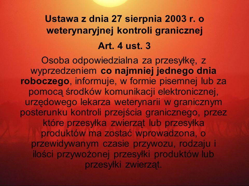 Ustawa z dnia 27 sierpnia 2003 r