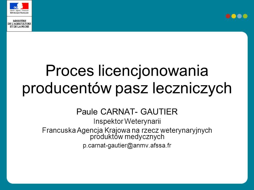 Proces licencjonowania producentów pasz leczniczych