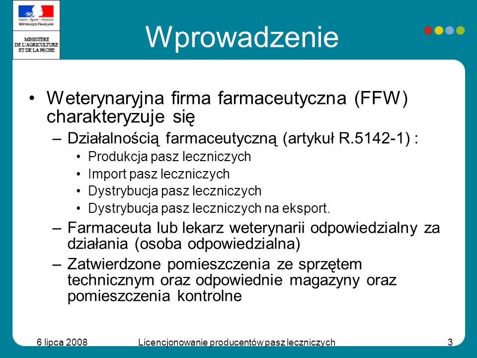 Licencjonowanie producentów pasz leczniczych