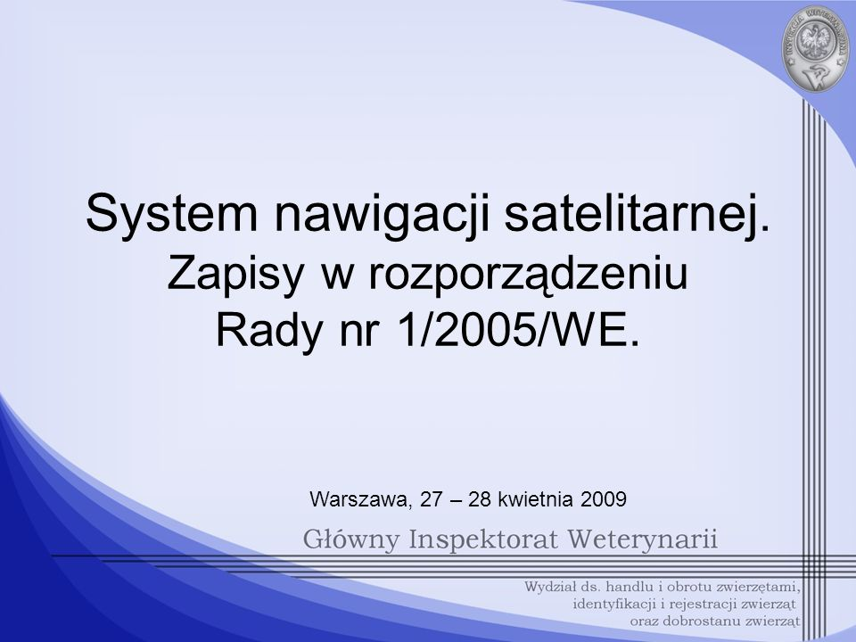 System nawigacji satelitarnej