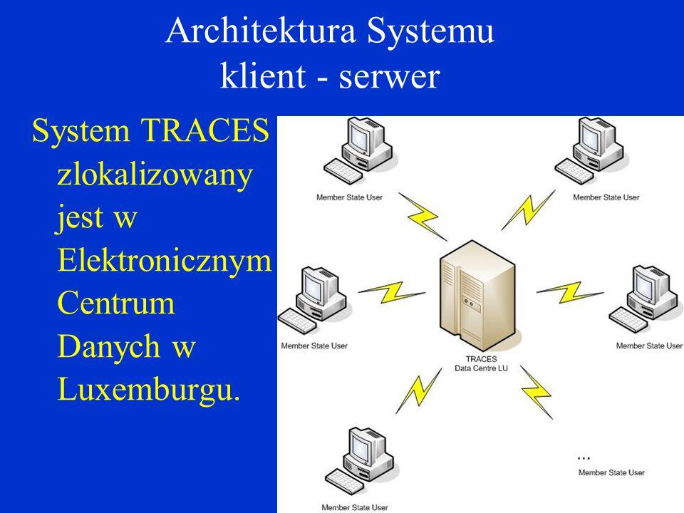 Architektura Systemu klient - serwer
