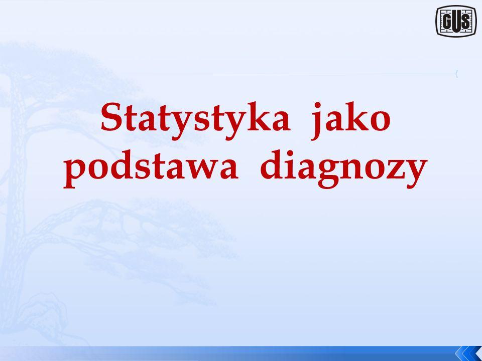 Statystyka jako podstawa diagnozy