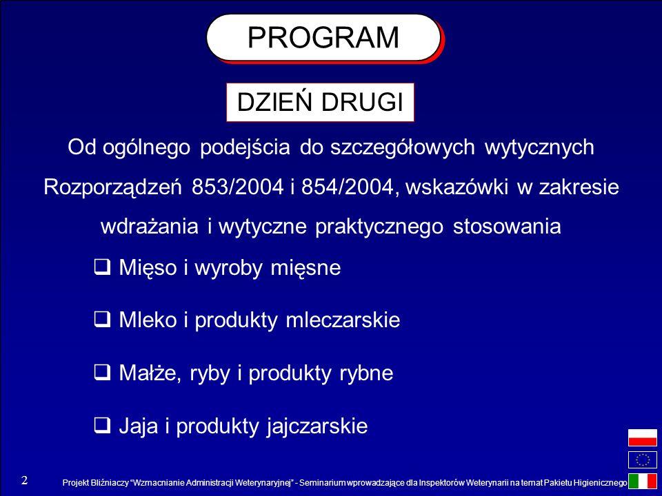 PROGRAM DZIEŃ DRUGI.