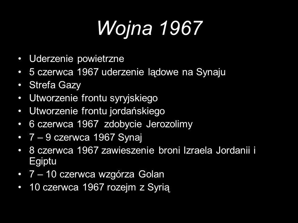 Wojna 1967 Uderzenie powietrzne