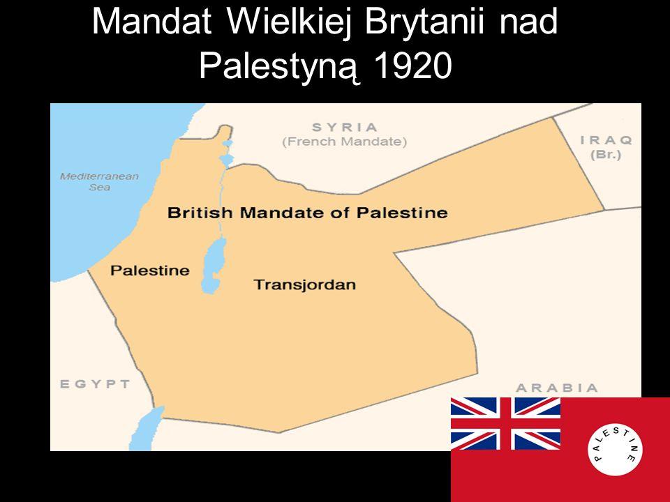 Mandat Wielkiej Brytanii nad Palestyną 1920