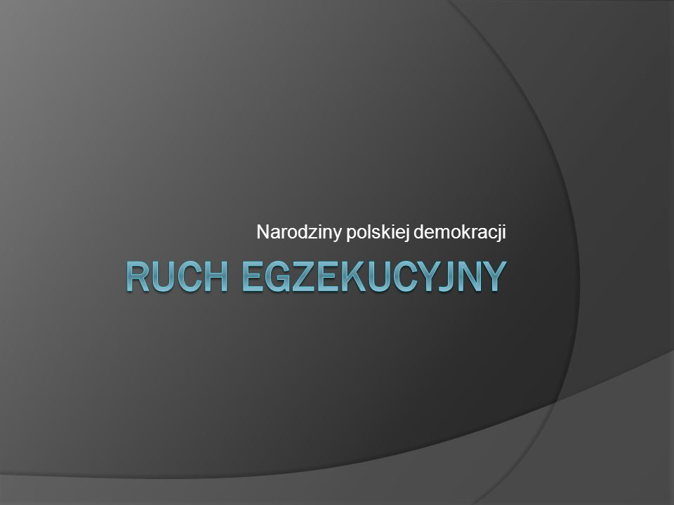 Narodziny polskiej demokracji